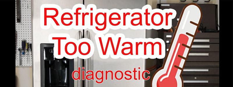 علت فریزر خنک یخچال گرم ویرپول