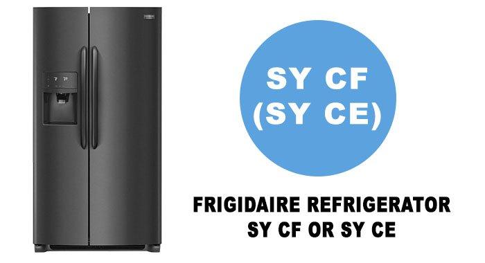 ارور SY CE یا SY CF یخچال فریجیدر