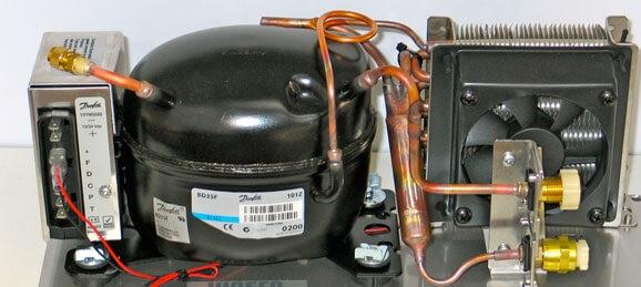 هزینه تعویض موتور یخچال