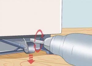 چگونه یخچال را تراز کنیم