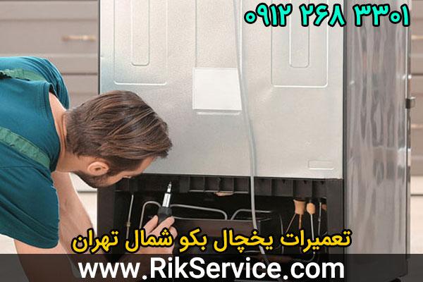 تعمیرات یخچال بکو شمال تهران